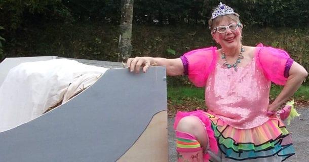 Susanna Metz-Clown Costume-e