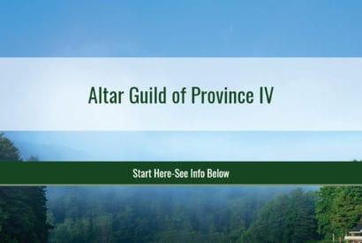 Altar Guild Retreat