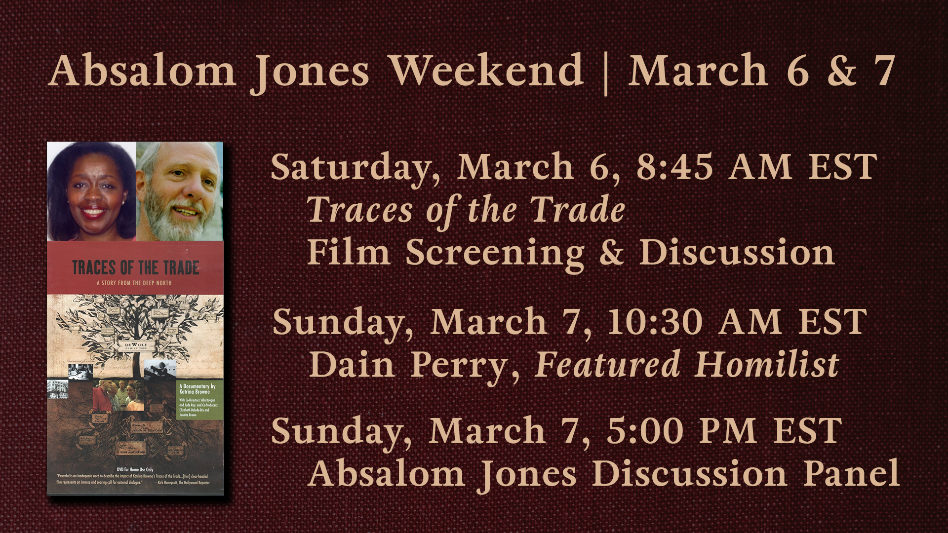 Absalom Jones Weekend